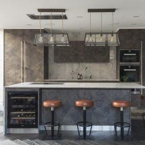 bespoke ash burr brixton kitchen design