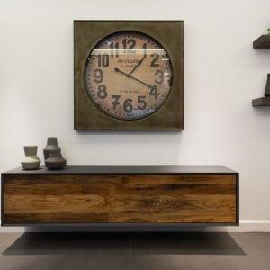 bespoke french oak tv cabinet 2